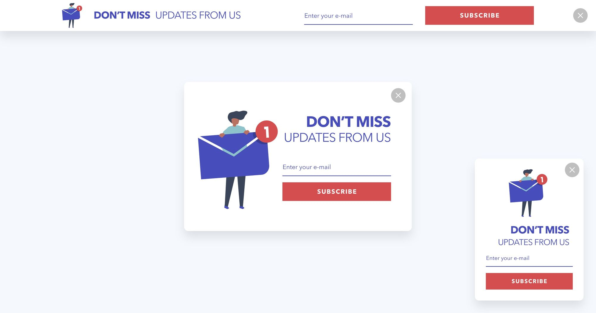 Dont Miss Updates From Us- Newsletter Popup 01