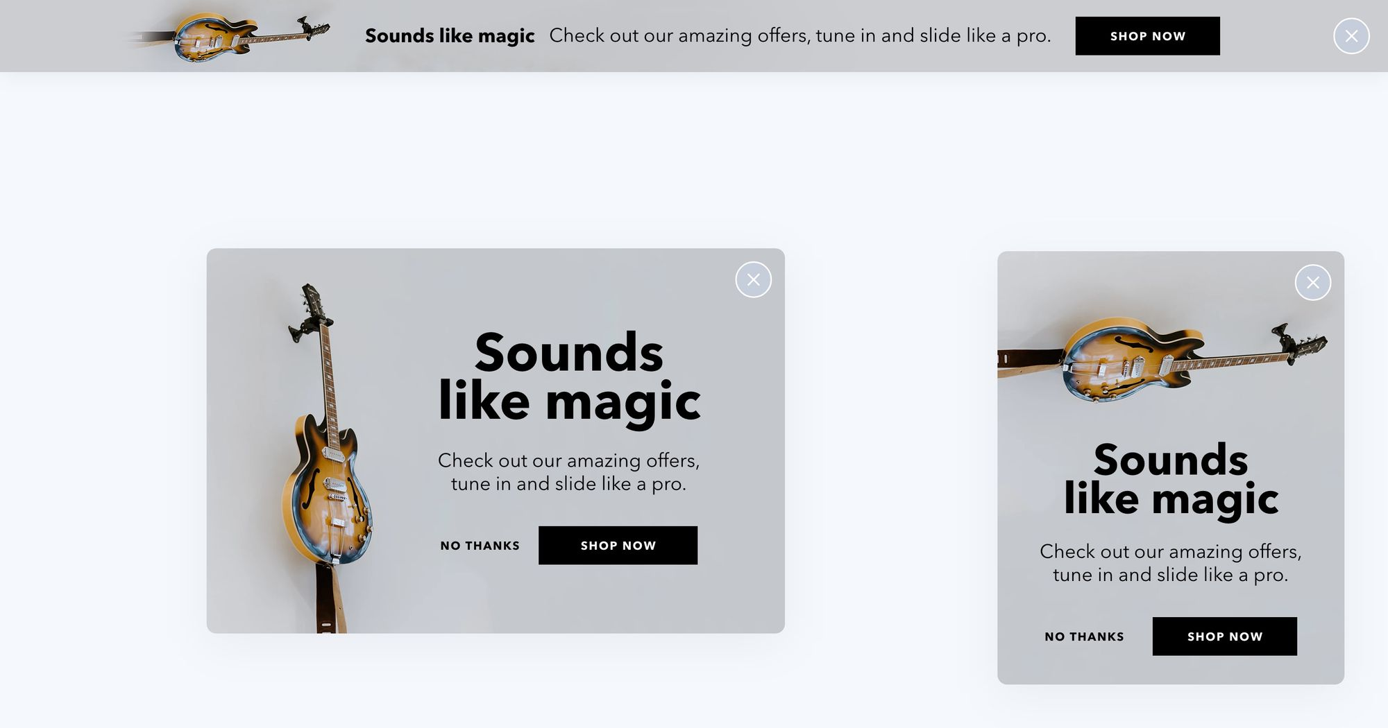 """""""Check Offers"""" Product Promotion Popup Design 03"""