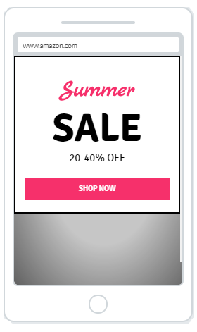 """Summer Sale"" Product Promotion Popup Design (Mobile) 5"