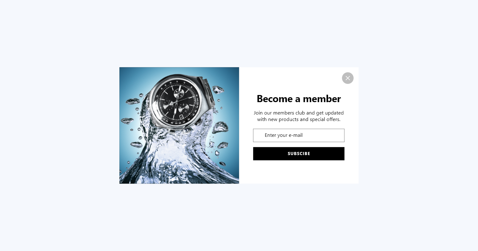 popupsmart content become a member middle popup design
